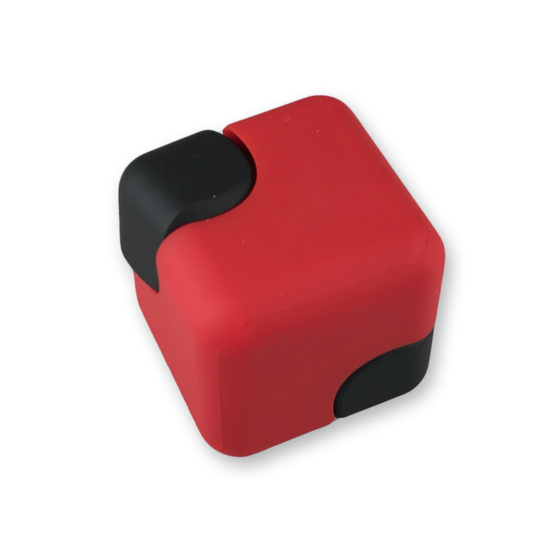 Fidgety Spinning Cube Red