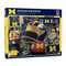 Michigan Wolverines Retro 500pc puzzle
