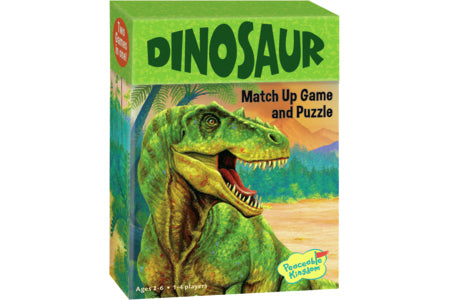 Match Up Dinosaurs Game and Puzzle