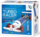 Atmospheric Turbo Racer Car