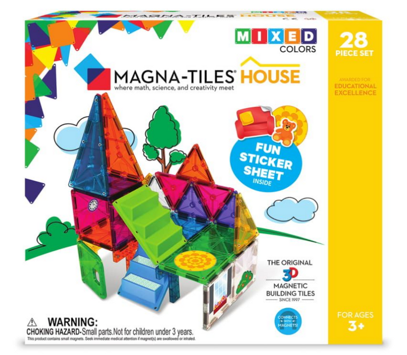 Magna-Tiles House 28pc