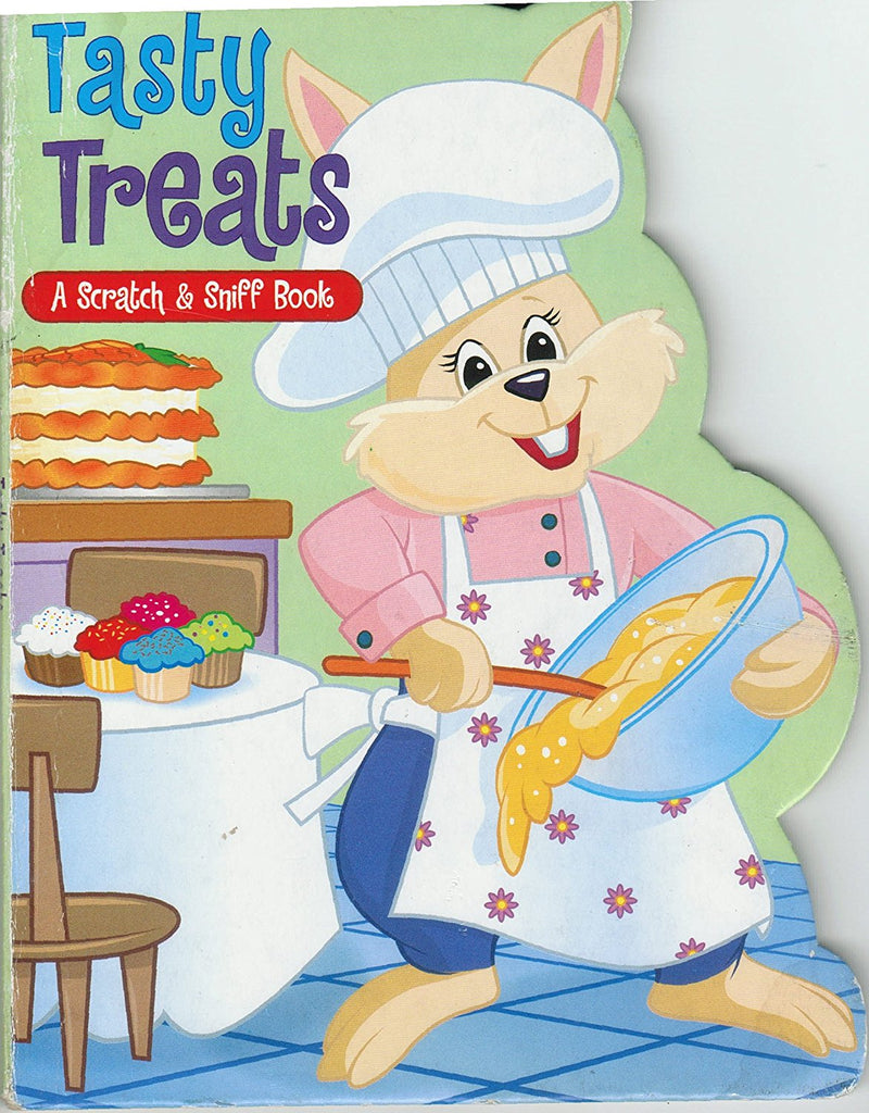 Tempting Treats Scratch and Sniff disc