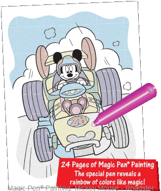 Mickey Mouse Magic Pen Painting