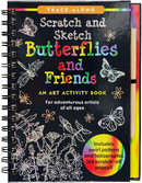 Scratch & Sketch Butterflies & Friends (Trace Along)