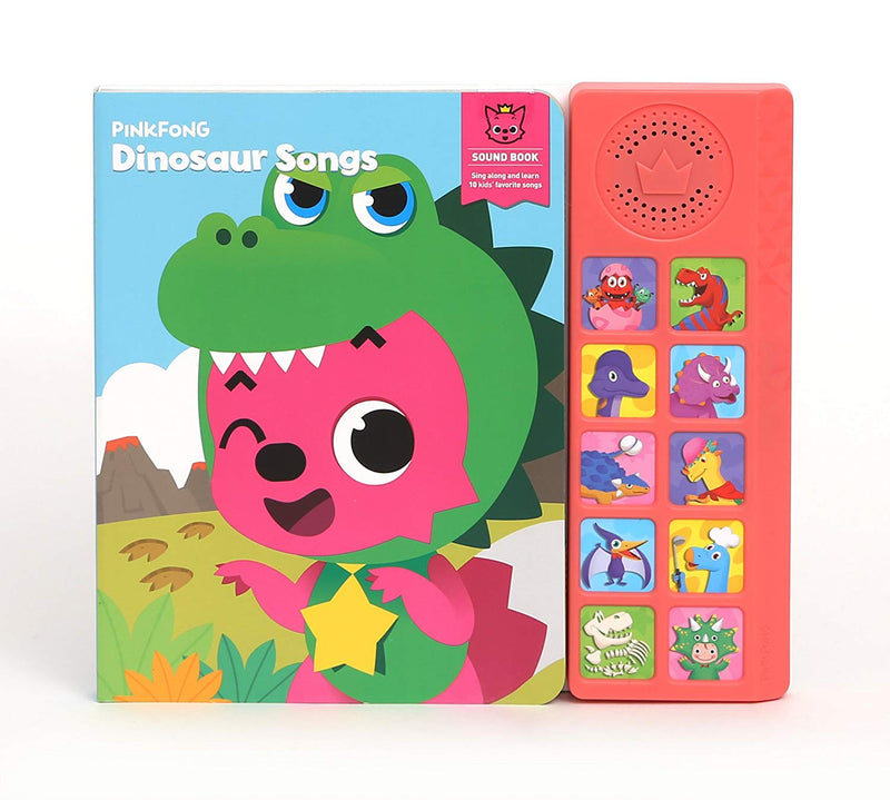Pinkfong Baby Shark Dinosaur Songs Sound Book