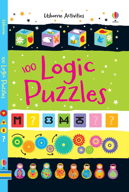 100 Logic Puzzles Activity Book