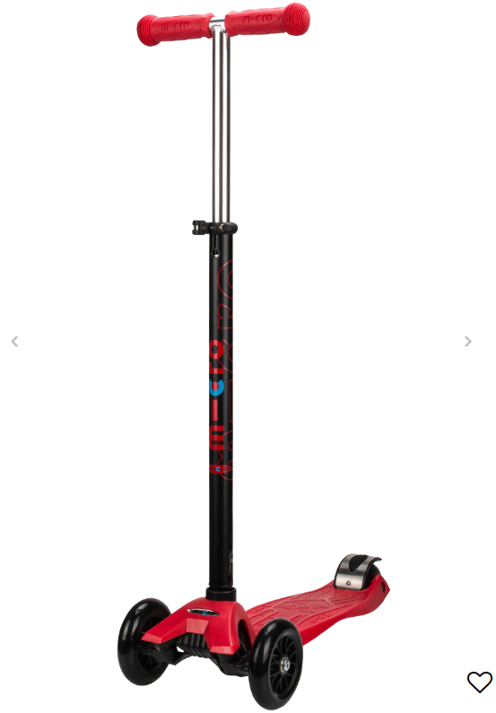 Micro Maxi Deluxe Scooter Red