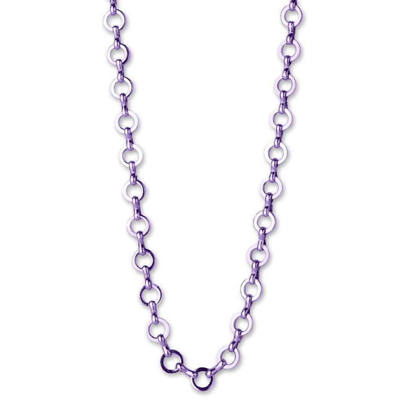 Purple Chain Necklace