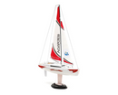Voyager 280 RC Sailboat-Red