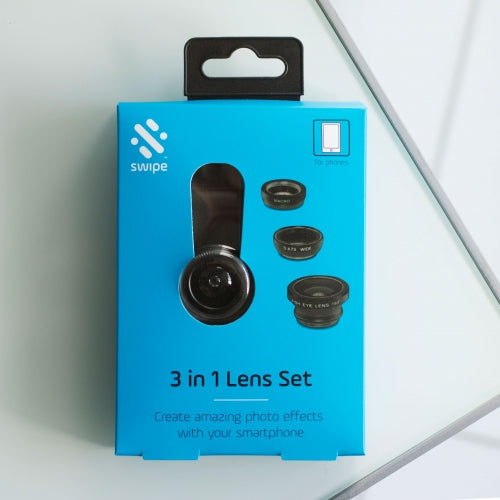 3 IN 1 Lens Set for Smartphone