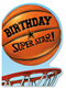 Basketball Birthday Superstar Card