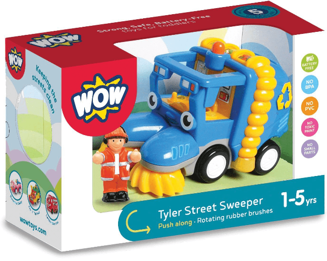 Wow Tyler Street Sweeper