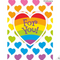 Rainbow Hearts Gift Enclosure Card