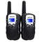 Walkie Talkie/ Flashlight - Black