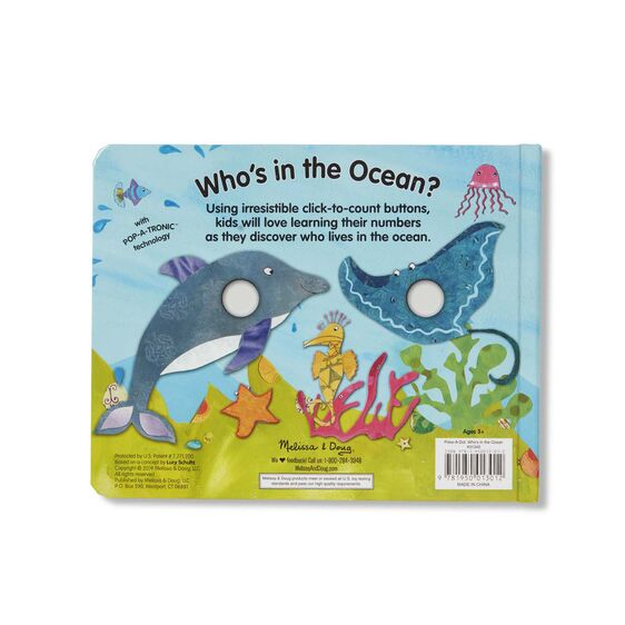 Poke-A-Dot!: Who's In The Ocean?