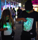 Kids Interactive Glow T-Shirt (5-6yrs)