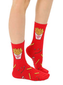 Large Fry and Small Fry Mini+Me Socks