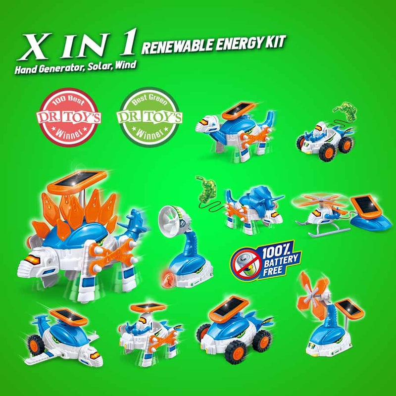X in 1 Renewable Energy Kit