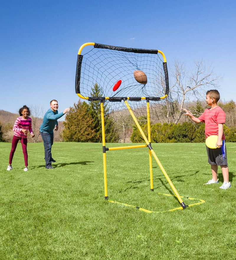Kick 'n Toss Football / Frisbee Toss 2 in 1