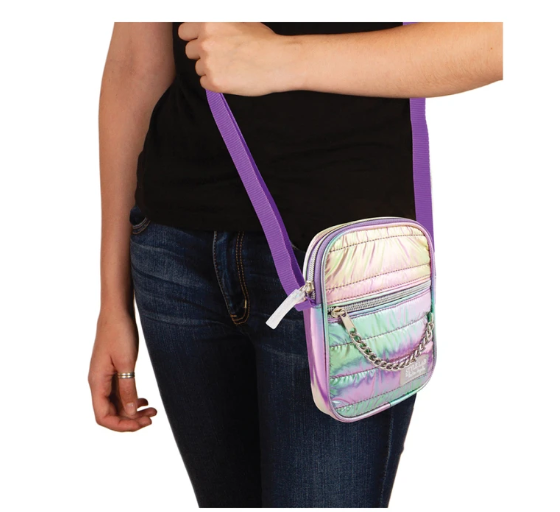 Mini Crossbody Puffer Pastel Gradient