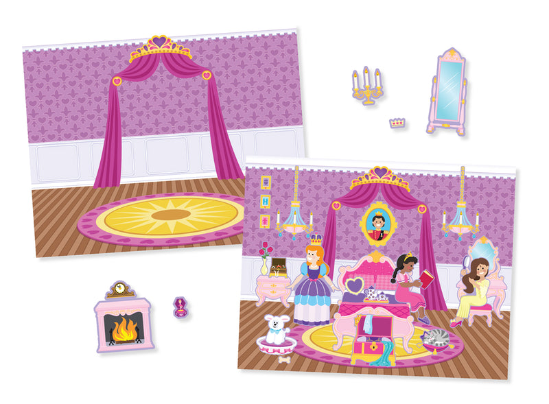 Reusable Sticker Pad - Princess Castle
