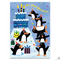 Penguin Flocked Card