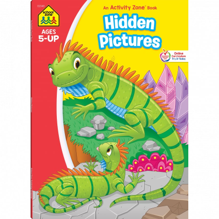 Hidden Pictures Activity Zone