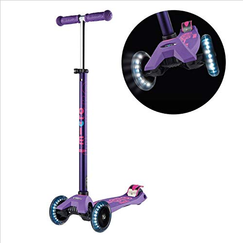 Micro Maxi Deluxe LED Scooters Purple