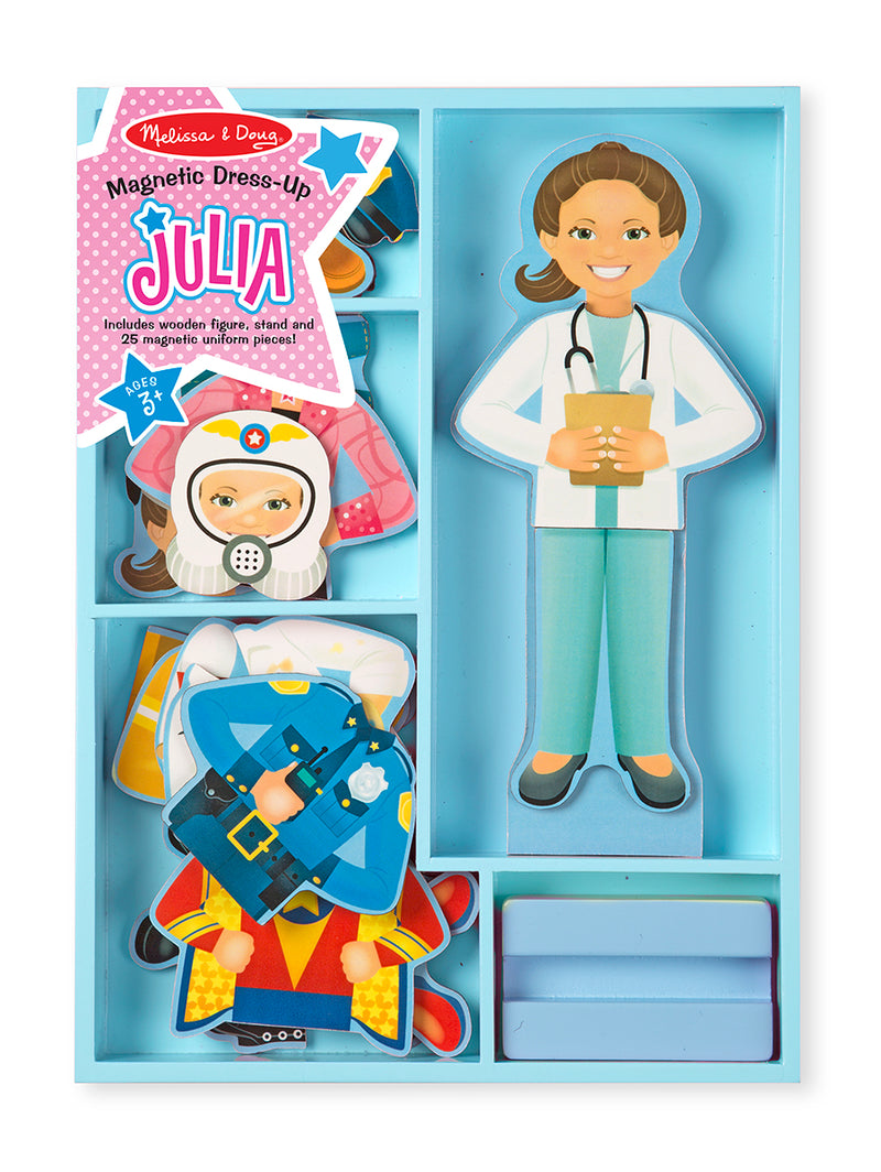 Magnetic Pretend Play - Julia
