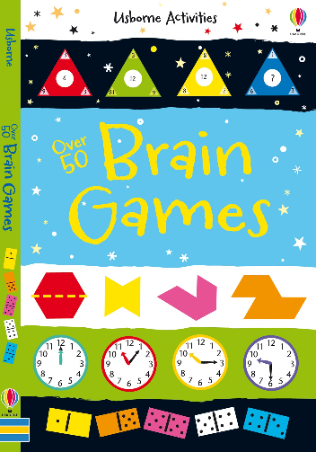 Over 50 Brain Games Activity Book