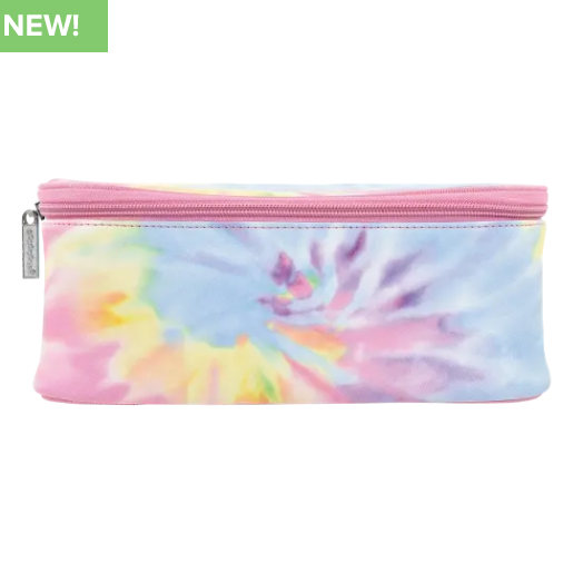 Tie Dye Self Care -Pastel Cosmetic Case