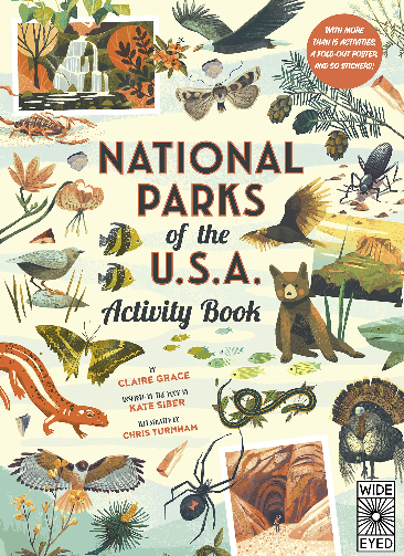 National Parks of the USA Activity Book
