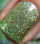 Rainbow Sparkle Polish Slime Time