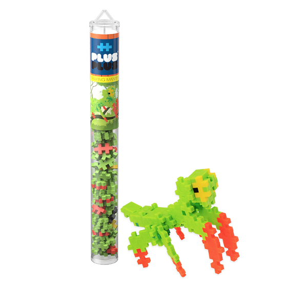 Plus-Plus Praying Mantis Tube