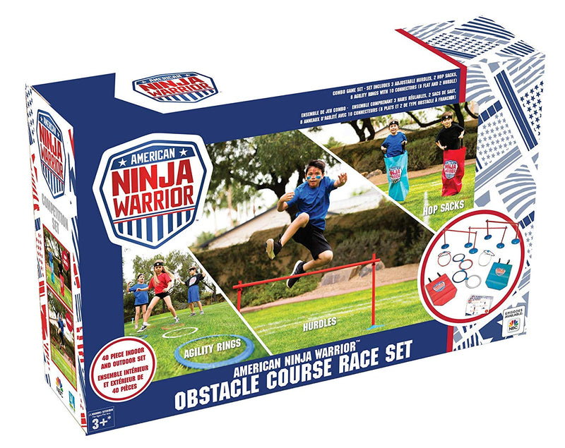 American Ninja Warrior Complete Competition Set 41pc