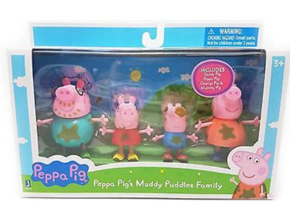 Peppa Pig and Family