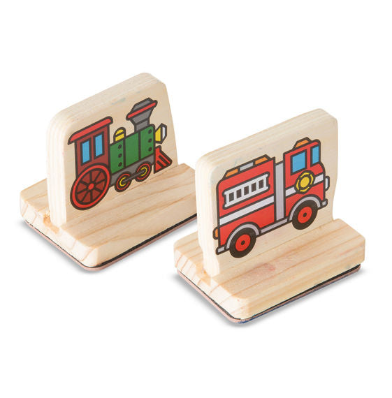 Vehicles My First Wooden Stamp Set