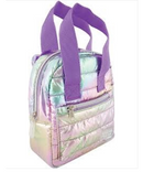 Mini Backpack Puffer Pastel Gradient