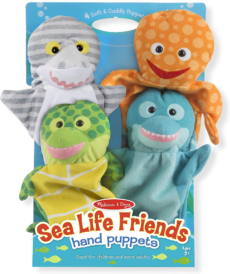 Sea Life Friends Hand puppet