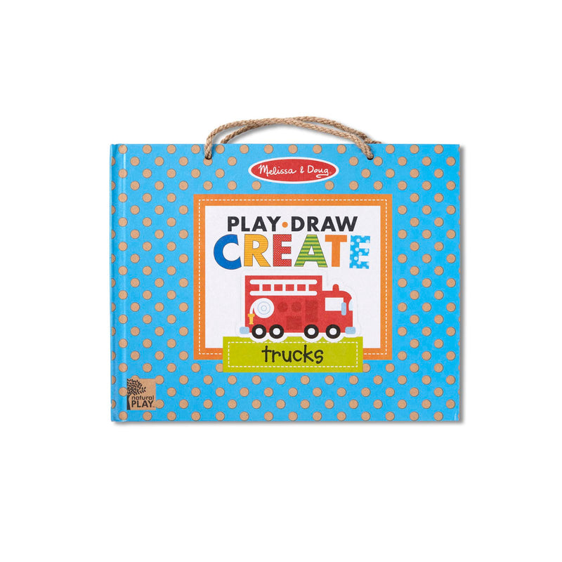 Play, Draw, Create: Trucks
