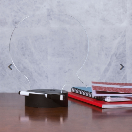 Write On Speech Bubble Memo Lamp