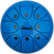 "Steel Tongue Drum 8"" Blue"