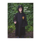 Wizard Cloak & Glasses, Black, Size 7-8