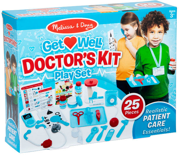 Get Well Doctor's Kit Playset