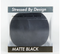 Stressed By Design - Matte Black