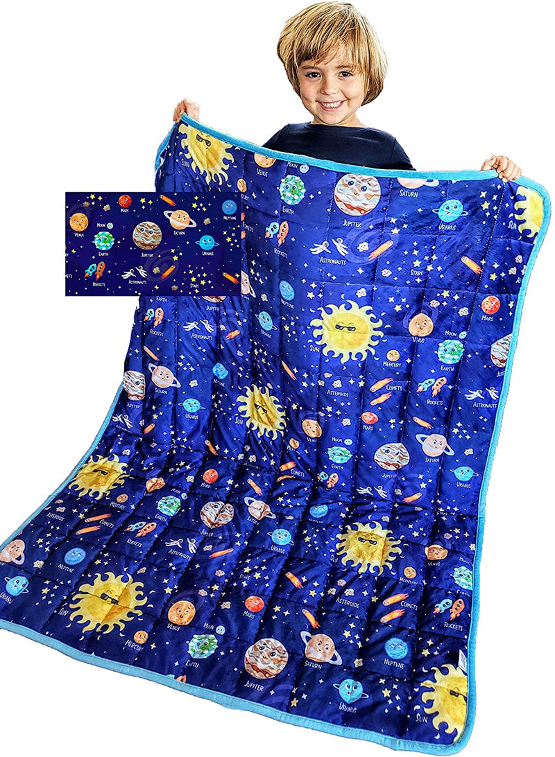 Planet Solar System Weighted Blanket