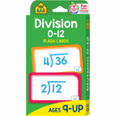 Division 0-12 Flashcards