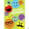 Emoticons Glitter Card