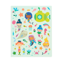 Play Again! Reusable Stickers: Mermaid Magic