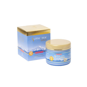 Alpine Silk Plant Placenta SPF15 Day creme 100g Pot and Box